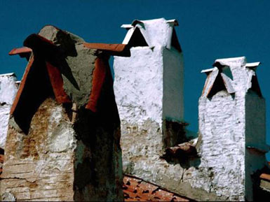 Mugla chimneys