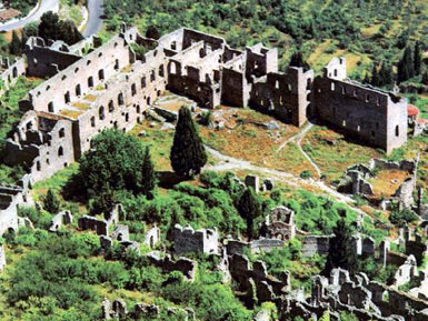 Palaces of the Mystras Despots