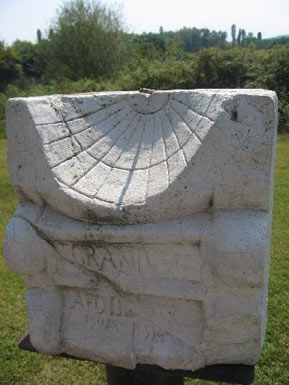 A sun-dial in Dion