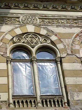 Detail of the Facade Decoration