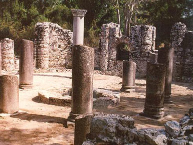 Columns of the Round Temple