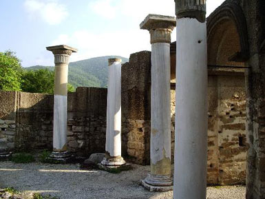 Columns of the Round Church