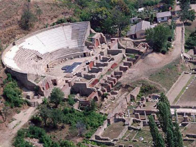 The Ancient Theatre in Heraclea