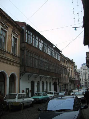Bucharest Merchant House, Street View