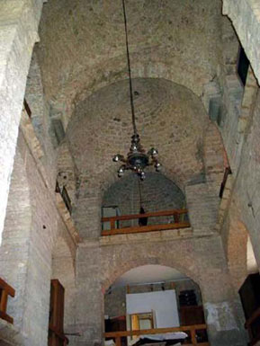 The Old Synagogue from inside