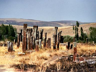 Selcuk cemetery at Ahlat - Lake Van