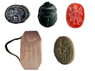 Stamp seals from the Duluk Baba Tepesi