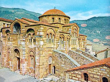 The Monastery of Hossios Luckas