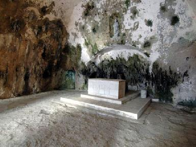 Altar in the Cave Church