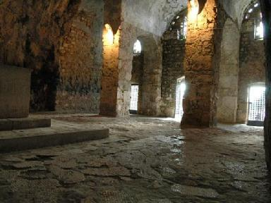 Interior of the Cave Church of St. Peter