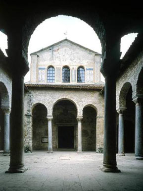 Porec, Episcopal Complex of the Euphrasian basilica in the Historic Centre