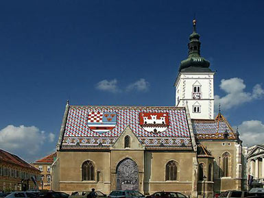 The Church of St Mark, Zagreb