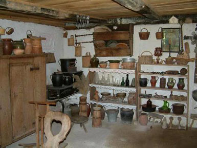 Sisak, ethnographical exhibition in the Old town