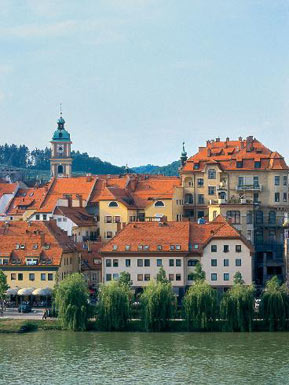 Maribor The Old city core