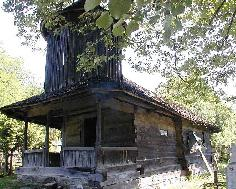 The wooden church - Frasin vale