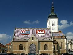 The Cathedral and the churches of Zagreb
